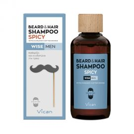 Vican Wise Men Beard & Hair Shampoo Spicy 200ml
