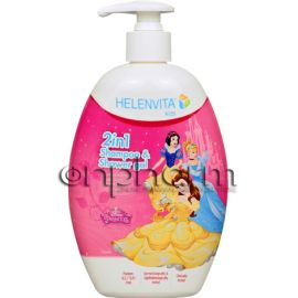 Helenvita Kids 2in1 Shampoo & Shower Gel 500ml Princess