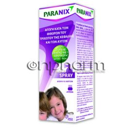 Paranix spray 100 ml+Κτένα