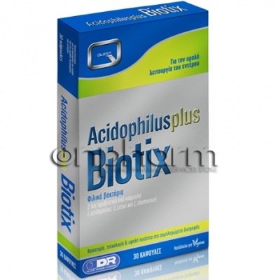 Quest Acidophilus Plus Biotix 30Kάψουλες