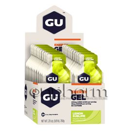 GU Energy Gel 32g Pack 24τεμάχια-Γεύση Lemon Sublime