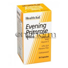 Health Aid Evening Primrose Oil 1000mg + Vitamin E 30 veg.caps