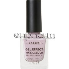 Korres Gel Effect Nail Colour 06 Cotton Candy 11ml