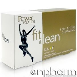Power Health Fit & Lean 30+30Κάψουλες