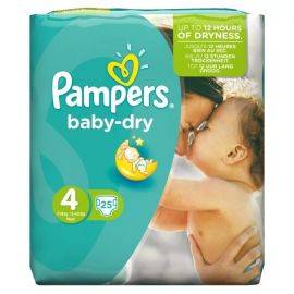 Pampers Baby Dry No 4 Maxi 7-18Kg 25 Πάνες