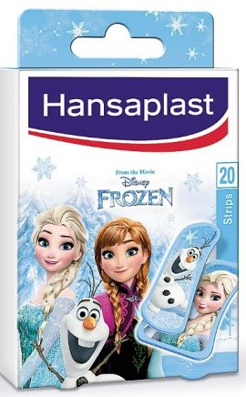 Hansaplast Junior Frozen 20Τεμάχια