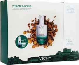 Vichy Promo Urban Ageing Protection Slow Age Fluid SPF25  50ml & ΔΩΡΟ Eau Thermale Spray Ιαματικό Νερό 50ml & Masque Mineral Desalterant Ενυδατική Μάσκα 15ml