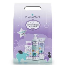 Pharmasept Promo Baby Care Tol Velvet Mild Bath 500ml, Micellar Water 300ml και Tol Velvet Baby Care Extra Calm Cream 150ml