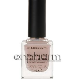 Korres Gel Effect Nail Colour 31 Sandy Nude 11ml