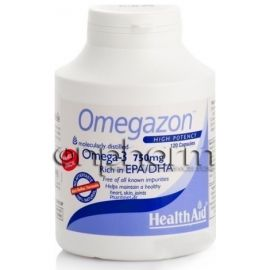 Health Aid Omegazon 750mg 120Κάψουλες