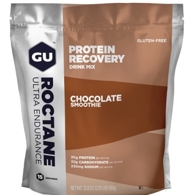 Gu Roctane Protein Recovery Drink Mix 930g-Γεύση Chocolate Smoothie