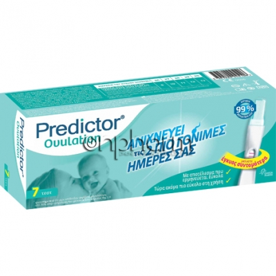 Predictor Ovulation Τεστ Ωορρηξίας  7Τεμάχια