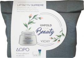 Vichy Promo Liftactiv Supreme Μικτή Επιδερμίδα 50ml & Mineral 89 4ml & Liftactiv Night 15 ml & Mineral 89 eyes 1ml
