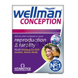 Vitabiotics Wellman Conception 30 Tαμπλέτες