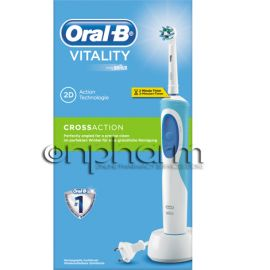 Oral-B Ηλεκτρική Οδοντόβουρτσα  Vitality Plus 2D Cross Action