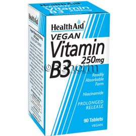 Health Aid Vitamin B3 250mg 90Ταμπλέτες