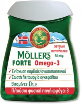 Nature's Plus Moller's Forte 60 Κάψουλες
