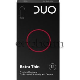 Duo Extra Thin (πολύ λεπτό) Συσκευασία 12Tεμαχίων