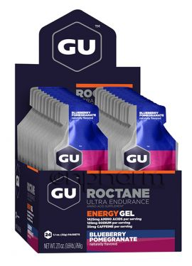 GU Roctane Energy Gel 32g Pack 24τεμάχια-Γεύση Βlueberry-Pomegrante
