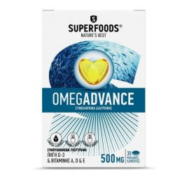Superfoods Omegadvance 500mg 30Κάψουλες