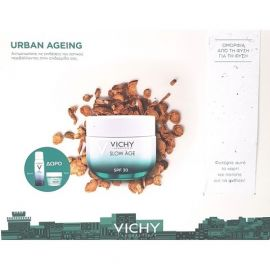 Vichy Promo Urban Ageing Protection Slow Age Creme SPF30  50ml & ΔΩΡΟ Eau Thermale Spray Ιαματικό Νερό 50ml & Masque Mineral Desalterant Ενυδατική Μάσκα 15ml