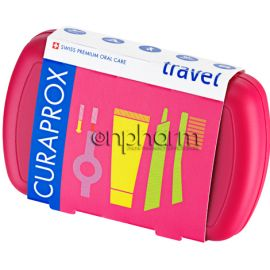 Curaprox Travel Set Κόκκινο