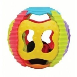 Playgro Shake Rattle and Roll Ball Βρεφικό Παιχνίδι 6m+ 1τμχ