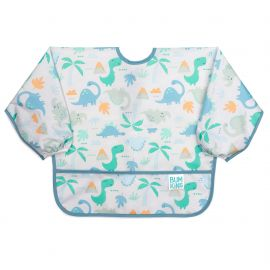 Bumkins Waterproof Sleeved Bib Dinosaurs 1pack