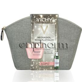 Vichy Promo Rose Platinium 50ml & Δώρο Dercos Nutrients Vitamin A.C.E Σαμπουάν Λάμψης 100ml