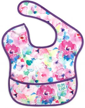 Bumkins SuperBib Girl 6-24 months Watercolor