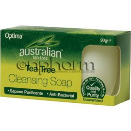 Optima Tea Tree Antiseptic Cleansing Soap 90g