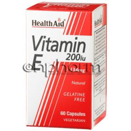 Health Aid Vitamin E 200IU  60Κάψουλες