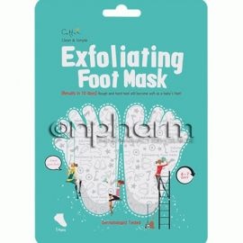 Cettua Exfoliating Foot Mask 1Ζεύγος