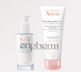 Avene Hydrance Intense Serum Hydratant 30ml με ΔΩΡΟ Avene Fluide Demaquillant 3en1 100ml