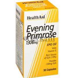 Health Aid Evening Primrose Oil 1300mg 30Κάψουλες