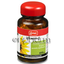 Lanes Vitamin E 400IU 30 Μαλακές Κάψουλες