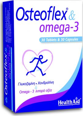 Health Aid Osteoflex & Omega 3 Dual Pack 30 κάψουλες & 30 ταμπλέτες