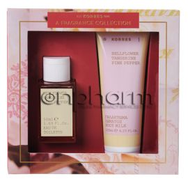 Korres Promo Set Eau De Toilette For Her Bellflower, Tangerine, Pink Pepper 50ml +  ΔΩΡΟ Γαλάκτωμα Σώματος 125ml
