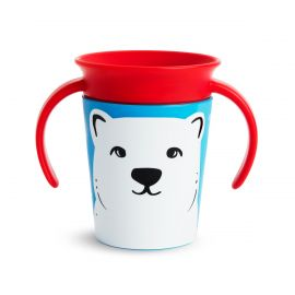Munchkin Miracle 360° Deco Trainer Cup Polar Bear 177ml
