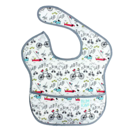 Bumkins SuperBib Boy 6-24 months Urban Bird