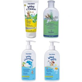 Frezyderm Baby Cream 175ml+Baby Bath 300ml+Baby Shampoo 300ml+Baby MILK 200ml