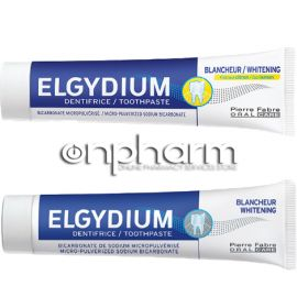 Elgydium Promo Whitening 75ml + Elgydium Whitening Cool Lemon 75ml -50% Στο 2ο Προϊόν