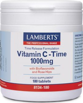 Lamberts Vitamin C Time Release 1000mg 180Ταμπλέτες