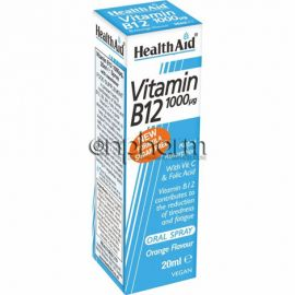 Health Aid Vitamin B12 1000μg Oral Spray 20ml