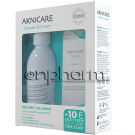 Synchroline Promo Aknicare Cleanser 200ml & Aknicare Cream 50ml