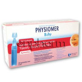 Physiomer Baby Unidoses 30 Aμπούλες των 5ml