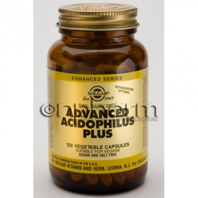 Solgar Advanced Acidophilus Plus veg.caps 120s