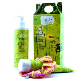 Aloe+ Colors Promo All Hair Types Shampoo and Hair Mask( ΔΩΡΟ λαστιχάκι pcp)