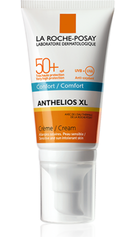 La Roche Posay Anthelios XL Confort Cream SPF 50+ Αντιηλιακό με Πλούσια Υφή 50ml