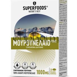 Superfoods Cod Liver Oil Pure 30Κάψουλες